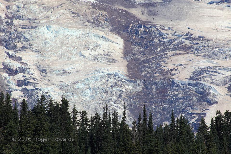 Glacial Breaks (Mt. Rainier)
