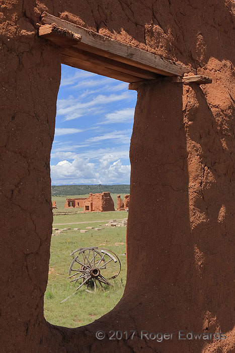 Window to Fort Union (NM)