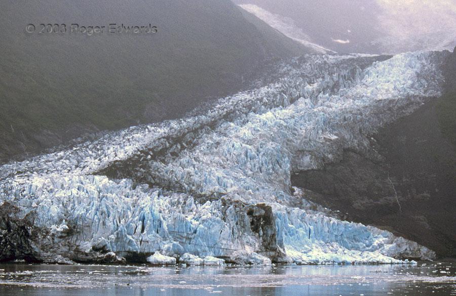 Glacier into College Fjord, AK