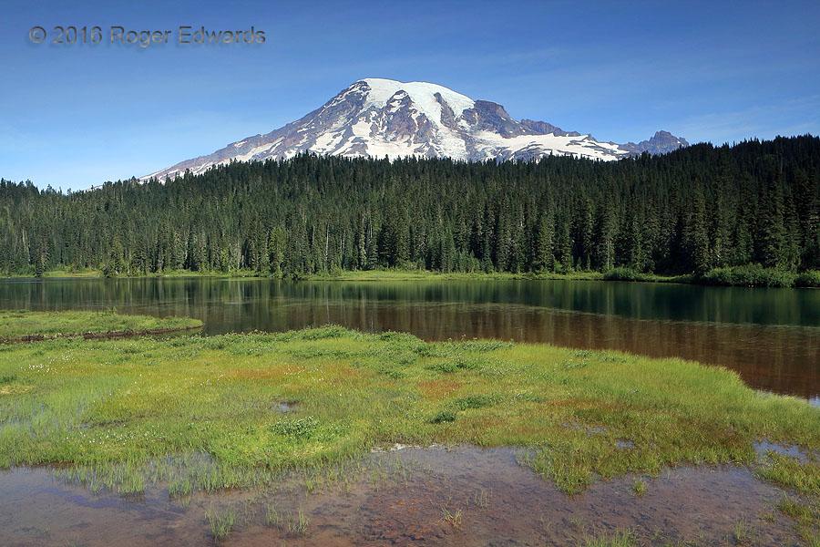 Mt. Rainier & Reflection Lake