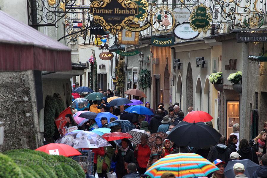 Umbrella People, Salzburg