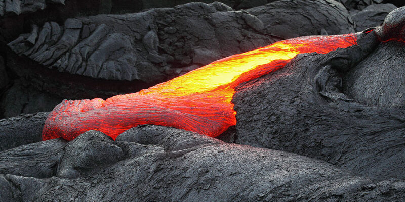Pavement Pouring (lava)