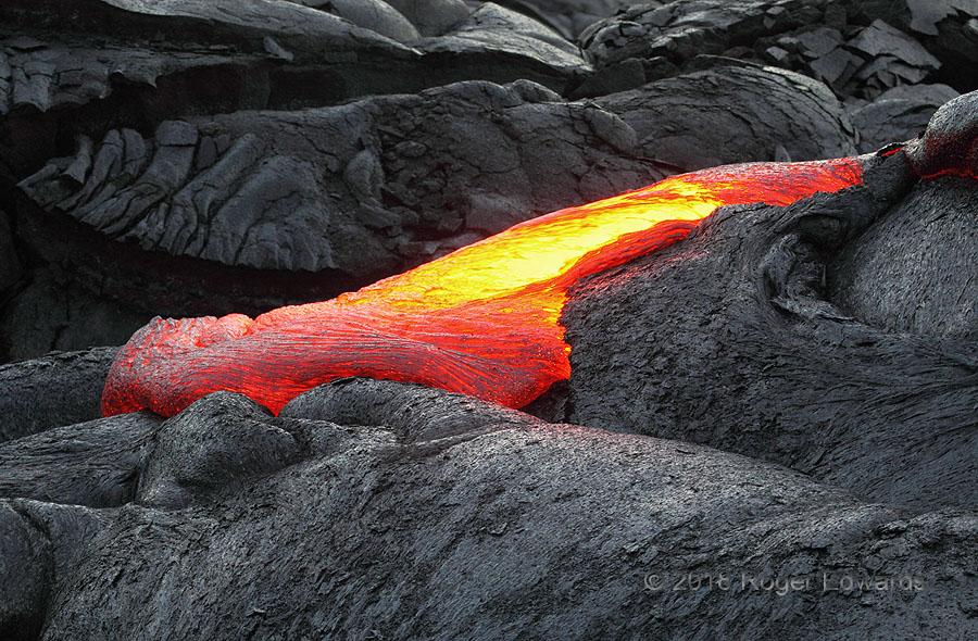 Pavement Pouring (lava)