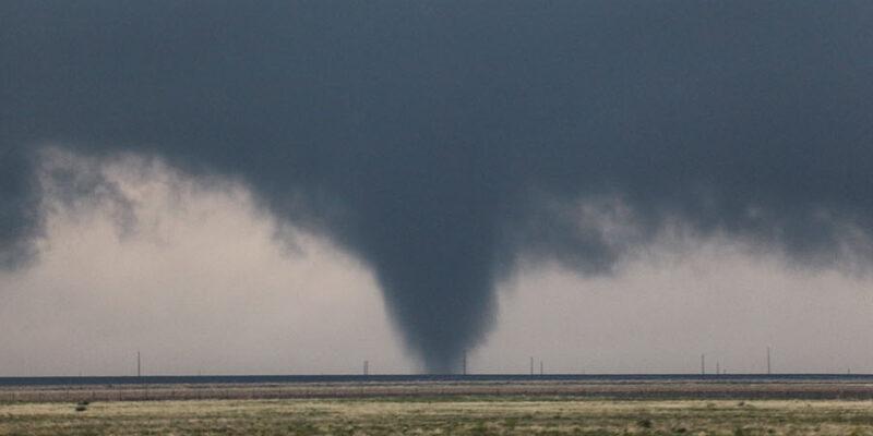 Tornadic Succession (3 Tornadoes near Conlen TX)