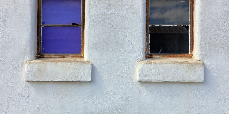 Two Windows (abandoned structure)