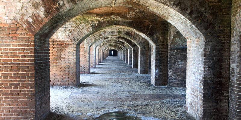 Archways of Fort Jefferson