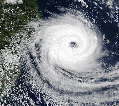 South Atlantic Hurricane 'Catarina'