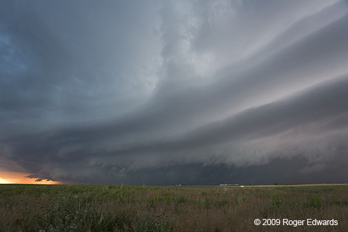 Liberal Kansas Storms Observed