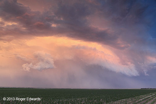 Pawnee Grassland Supercell and Sterling Sunset : Storms ...